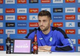 """David López: """"Ganar el derbi es especial y ojalá sea así para finalizar bien el año"""""""