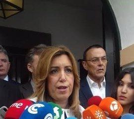 """Díaz critica que la izquierda """"inútil"""" no permitiera el debate de la moción del PSOE sobre el Corredor Mediterráneo"""