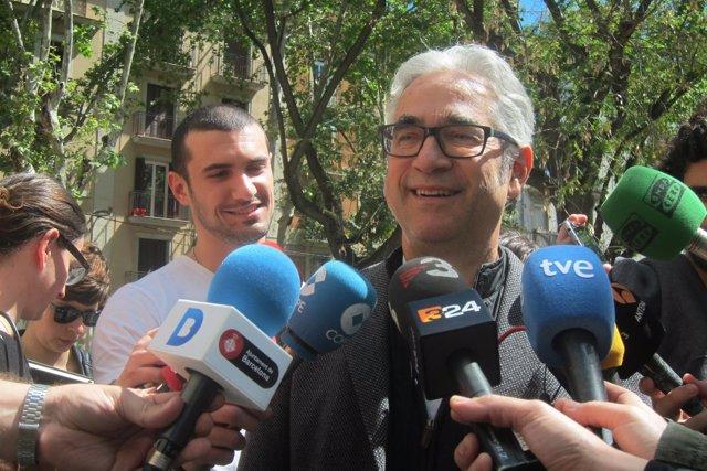 El concejal de Barcelona Josep Maria Montaner