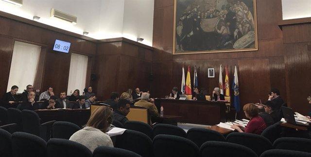 Pleno ordinario del mes de abril del Ayuntamiento de Santander