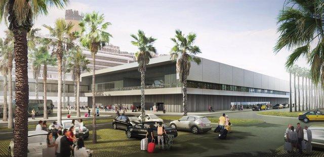 Nueva terminal de Carnival en el Puerto de Barcelona