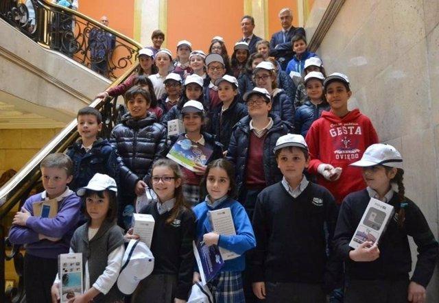 Escolares de Oviedo