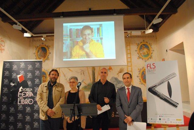 Presentación de la Feria del Libro de Sevilla 2017