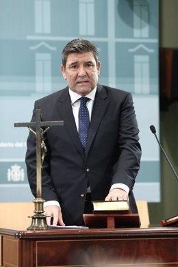 José Manuel Holgado Merino, director de la Guardia Civil