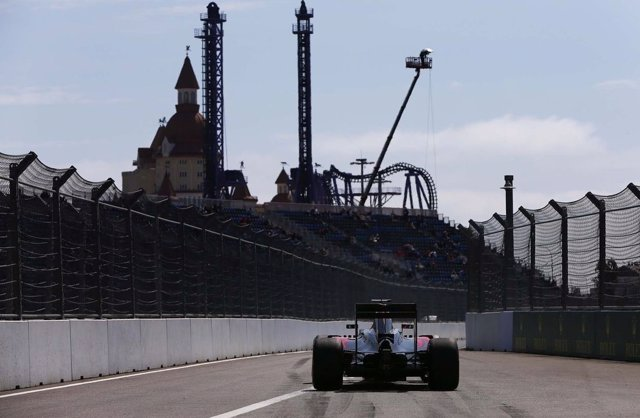 McLaren en el GP Rusia 2016