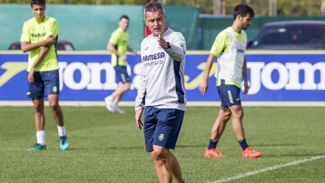 Fran Escribá, entrenador del Villarreal