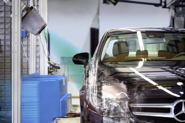 Rayos X en las pruebas de impacto de los coches