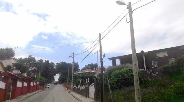Nueva línea de Endesa en Olèrdola