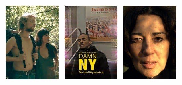 Carteles de 'La espera', 'Damn New york' y 'Todo mujer'