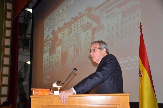 El presidente de la Fundación Telefónica, César Alierta.