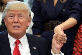 Trump confiesa que Peña Nieto y Trudeau le convencieron para no acabar con el NAFTA