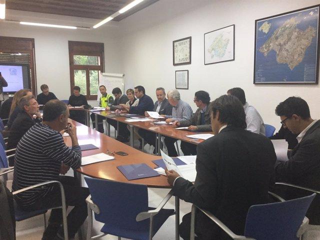 Comisión de Seguridad Vial del Consell de Mallorca