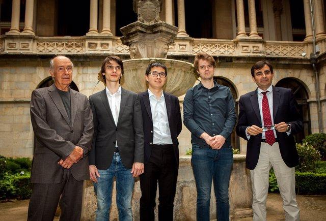Rueda de prensa de los tres finalistas del Premio Jaén de Piano