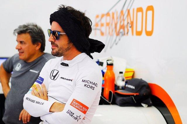 Fernando Alonso McLaren Baréin