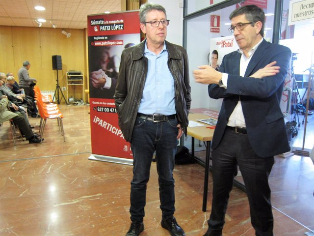 Valladolid.- Jorge Félix Alonso y Patxi López