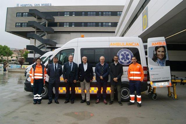 Nuevas ambulancias de Ibiza