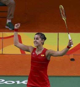 Carolina Marín en Río 2016