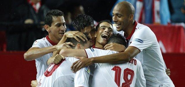 El Sevilla supera al RC Celta