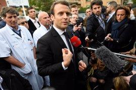 """Macron confiesa que admira la """"determinación"""" de Le Pen"""