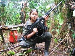 Menor de edad entre las FARC