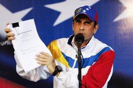 "Henrique Capriles: ""Antes se va Maduro de Miraflores que Venezuela de la OEA"""