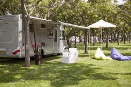 Murcia lidera la mayor estancia media en campings en marzo