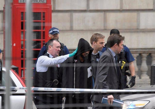 Detención en Londres