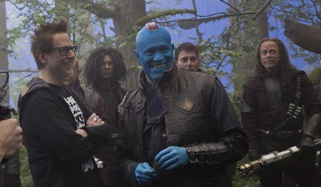 Guardians Of The Galaxy Vol. 2. James Gunn and Yondu