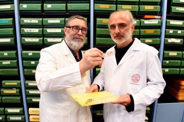 Los profesores Luis Puelles y José Luis Ferran de la UMU
