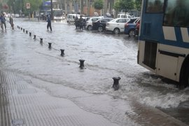 Más de 200 incidencias por la lluvia en la provincia de Huelva con daños en cuatro colegios