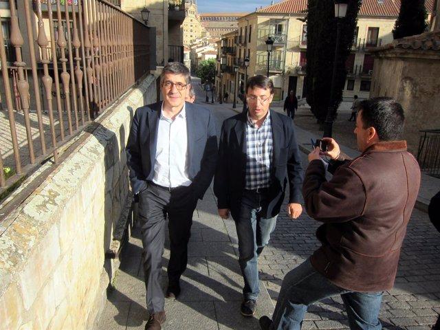 Patxi López en Salamanca
