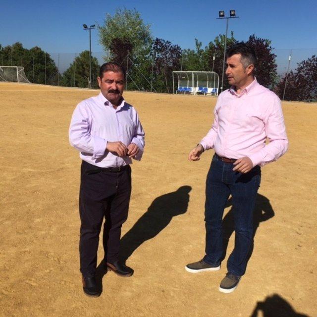 Castro y Agea abordan el proyecto en materia deportiva.