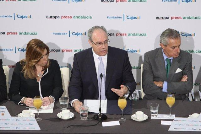 Durán participa en los Desayunos de Europa Press Andalucía