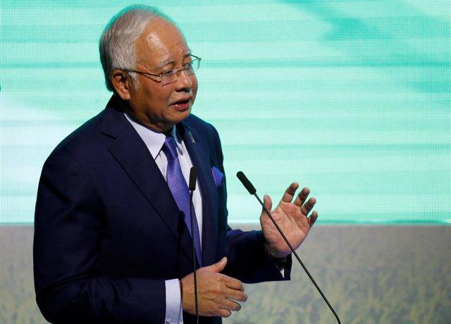 Primer ministro de Malasia, Nayib Razak durante ASEAN 2017