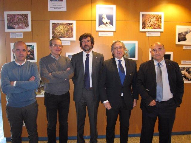 El Secretario General De Pesca, Alberto López Asenjo, El Director Del Instituto