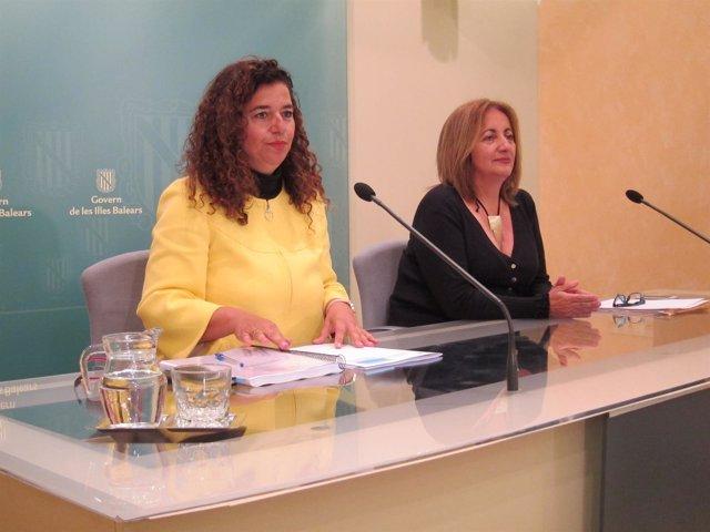 Fanny Tur y Pilar Costa