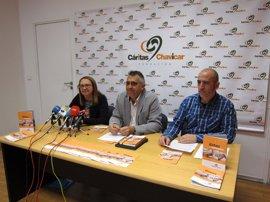 Fundación Cáritas Chavicar consigue un 25 por ciento más de inserción laboral que en 2015