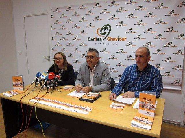 Presentación resultados  Cáritas Chavicar sobre empleo
