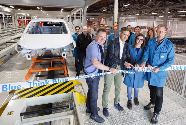 Nuevo almacén secuenciado de carrocerías de Volkswagen Navarra.