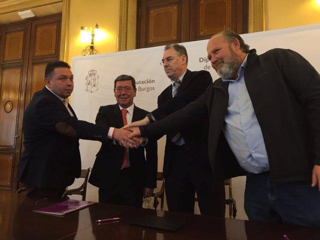 Firma del Acuerdo Social de la Provincia de Burgos