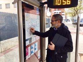 PR+ apuesta por la mejora de conexión del transporte público en Yagüe y Valdegastea