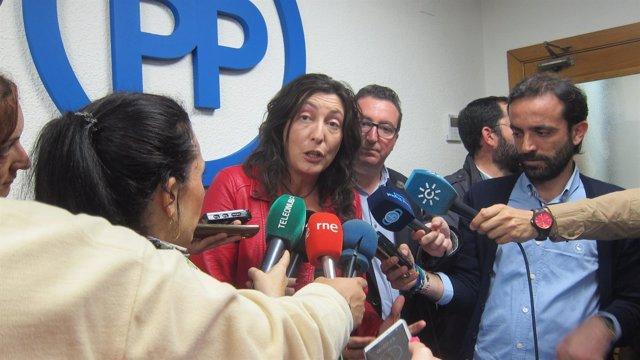 La secretaria general del PP de Huelva, Dolores López.