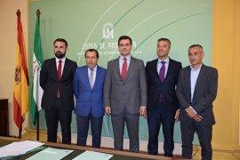 La Junta amplía su apoyo al sector empresarial malagueño con 1,1 millones de euros de incentivos a tres nuevos proyectos