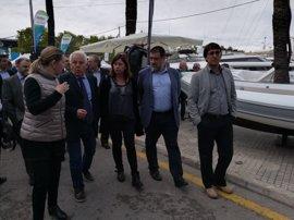 Armengol destaca la importancia del sector náutico para diversificar la economía en el XXXIV Boat Show Palma