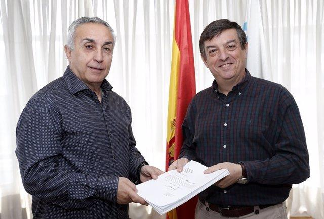 Alejandro Blanco presenta a Víctor Sánchez su candidatura a la presidencia COE