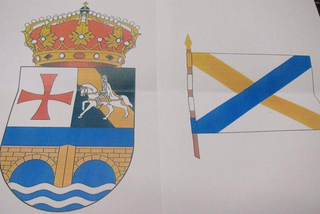Escudo Y Bandera De Villamediana