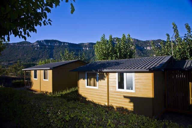 Cámping, mobilhome, bungalow