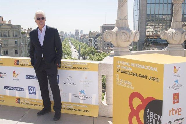 Richard Gere en Barcelona