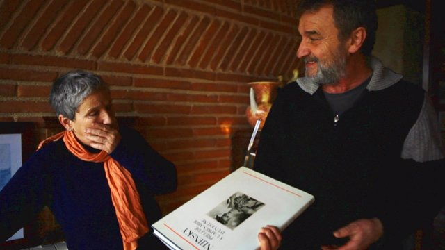 Concha Martínez y José Lainez.