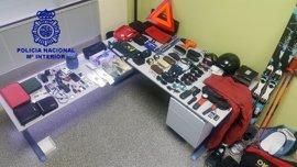La Policía Nacional detiene a un hombre de 49 años por varios robos en el barrio del G-3 de Burgos